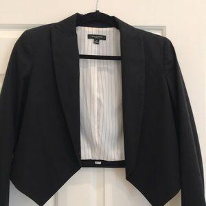 Ann Taylor cropped tuxedo jacket/ blazer